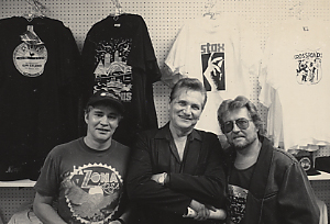 Keith Sykes, Billy Lee Riley and Knox Phillips
