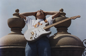 Robbie Laws, rooftop of the Peabpdy Hotel, Memphis